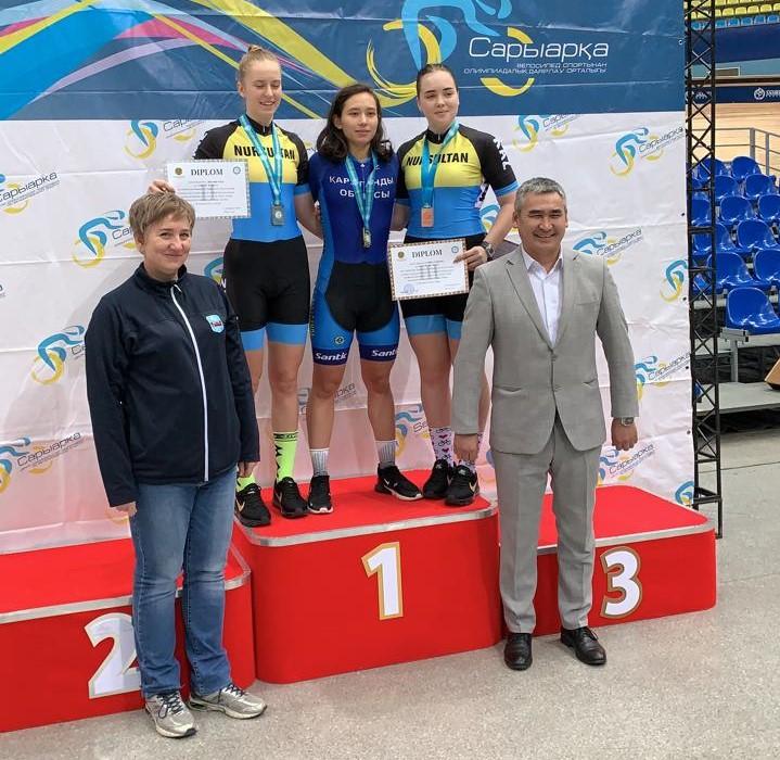 16-20 февраля 2020 г. в г.Нур-Султан прошел Чемпионат Республики Казахстан по велоспорту- трек среди юниоров 2002-2003 г.р.