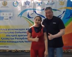 В г. Темиртау  с  09-16 мая  2021  г. (онлайн) проходят лично-командный Чемпионат Республики Казахстан по тяжелой атлетике среди юношей и девушек 2005-2006г.р.