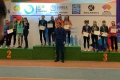 18-20 февраля 2020 г. в г.Усть-Каменогорск прошел Чемпионат Республики Казахстан в помещении по лёгкой атлетики среди юношей и девушек старшего возраста  2003-2004 г.р.