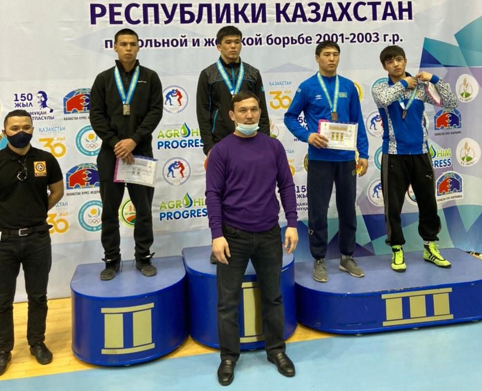 В г. Павлодаре  с  17-20 марта  2021  г.   прошли   V Международные игры  РК  по  вольной борьбе среди молодежи 2001-2003 г.р.
