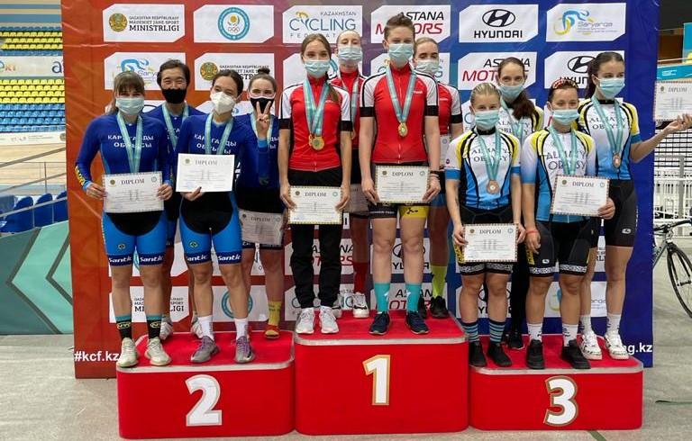 13-18 апреля 2021 г. в г. Нур-Султан прошел Чемпионат Республики Казахстан по велоспорту-трек в спринтерских видах среди юниоров 2003-2004 г.р