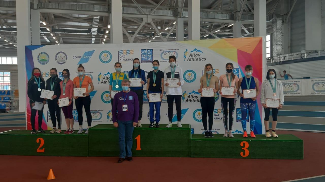 В г. Усть-Каменогорске  19-21  февраля  2021  г.   прошел   Чемпионат РК по легкой атлетике в помещении.