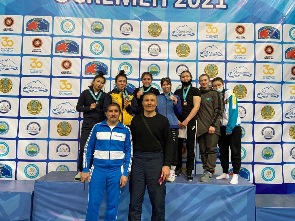 В г. Усть-Каменогорске с 04-05 марта  2021г. прошел Чемпионат РК U – 23 по  женской борьбе.